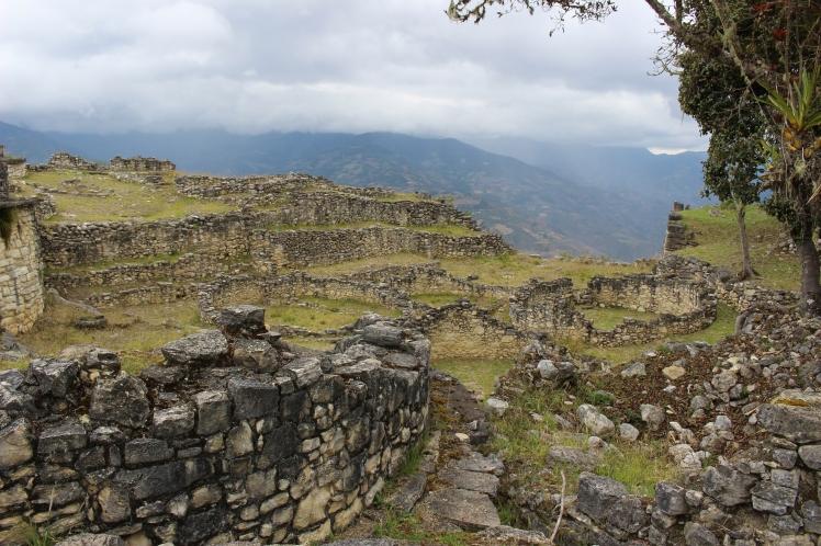 Les habitations circulaires de Kuelap