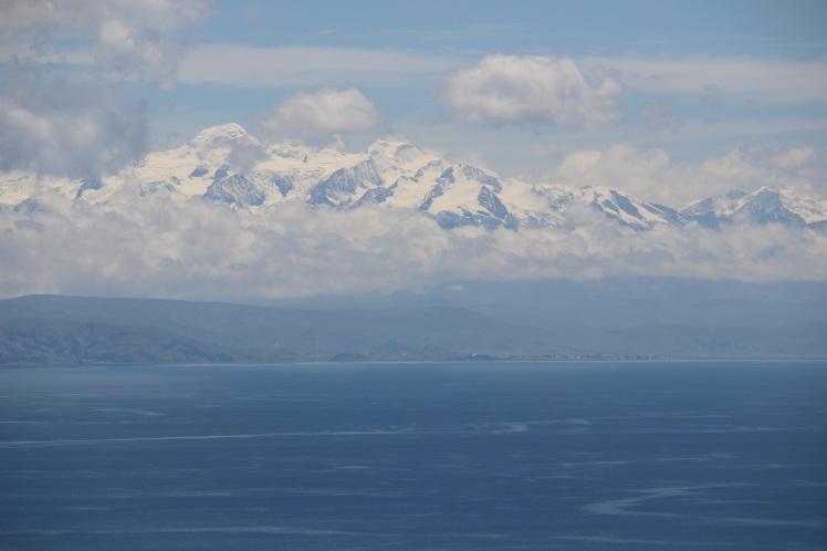 Vue sur les glaciers boliviens