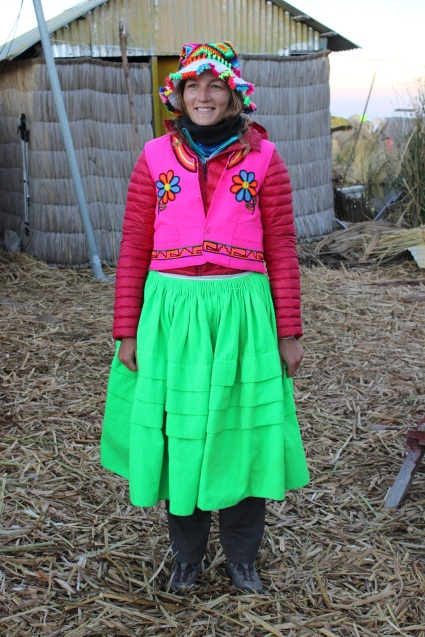 Steph en habit traditionnel