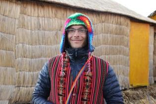 Flavien en habit traditionnel