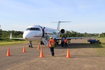 Avion de la compagnie Amaszonas