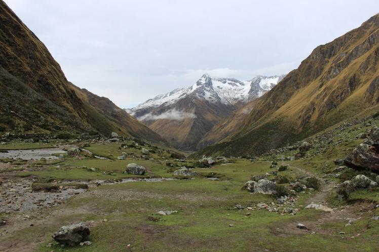 Vue sur le sommet Salkantay - jour 2
