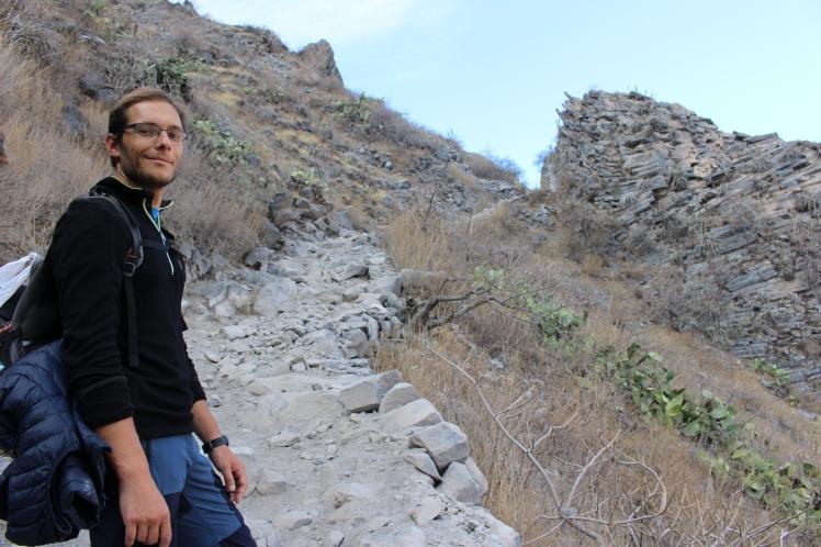 Formations géologiques sur le sentier