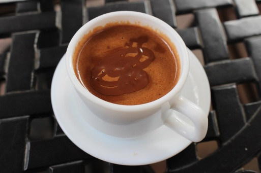 L'espresso chocolate