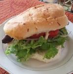 Sandwich au chorizo 7 lunares