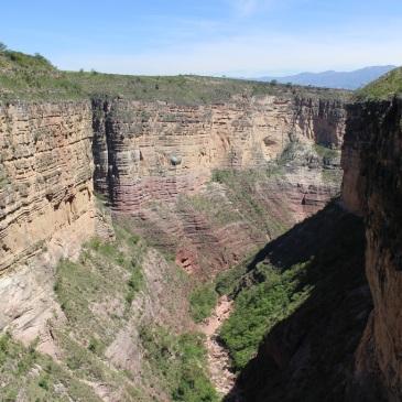 Canyon El Vergel, parc national de Torotoro