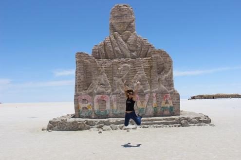Monument du Dakar, Salar d'Uyuni