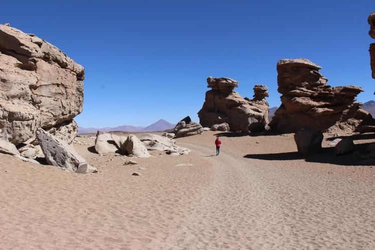Désert de Siloli, Bolivie