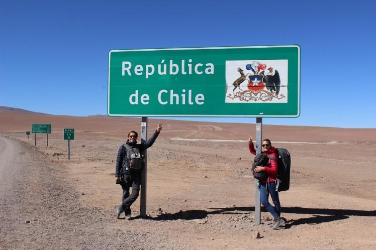 Frontière entre Bolivie et Chili