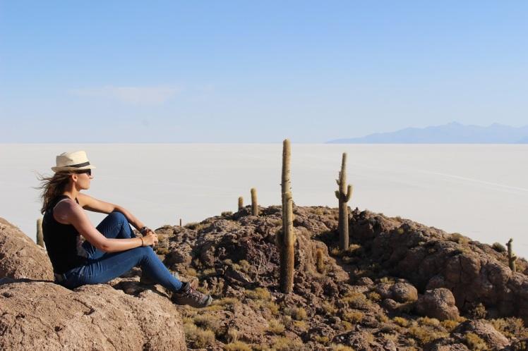 Isla Incahuasi et salar d'Uyuni