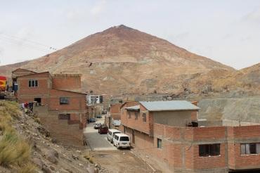 """Vue sur le """"cerro rico"""""""