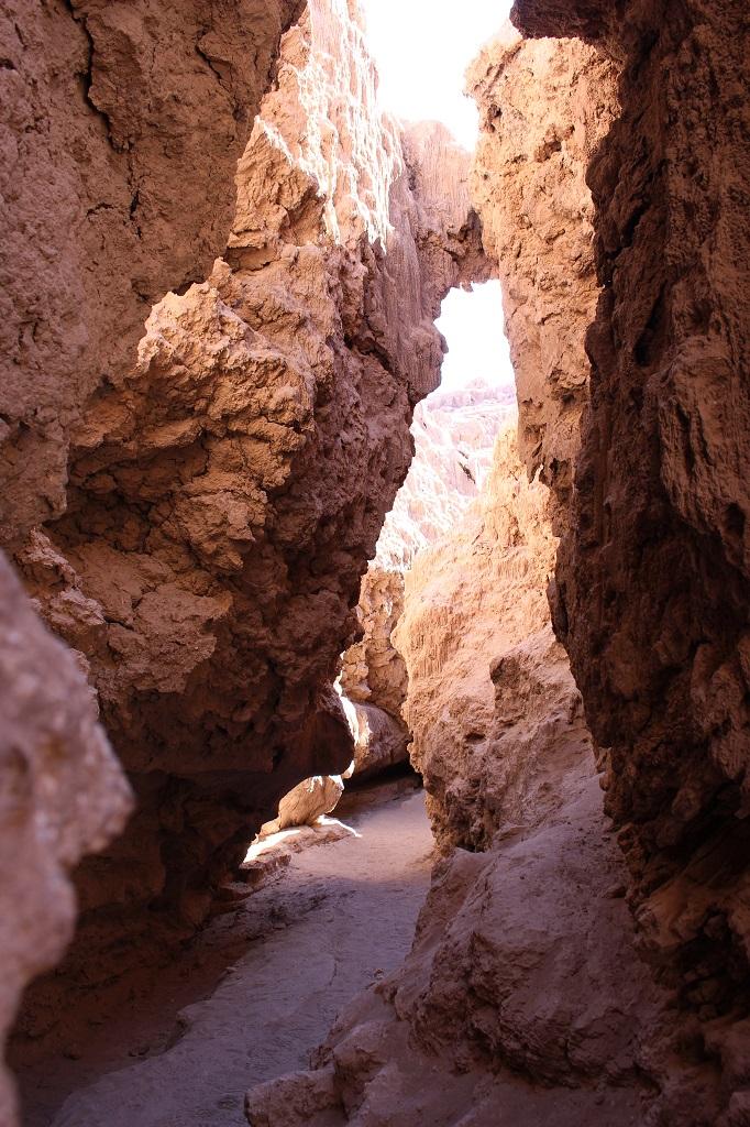 Entrée de la caverne de sel