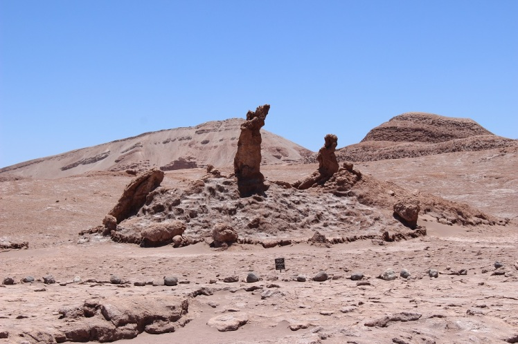 Les tres marias, Valle de la Luna