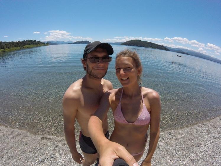 Playa Bonita au bord du lac Nahuel Huapi
