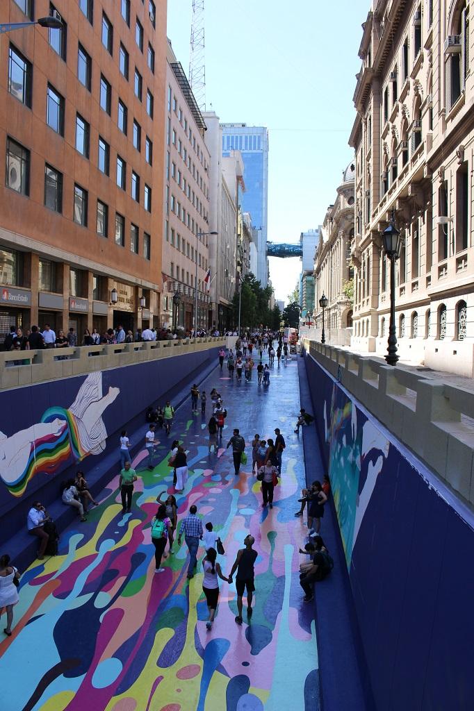Street art dans la calle Bandera