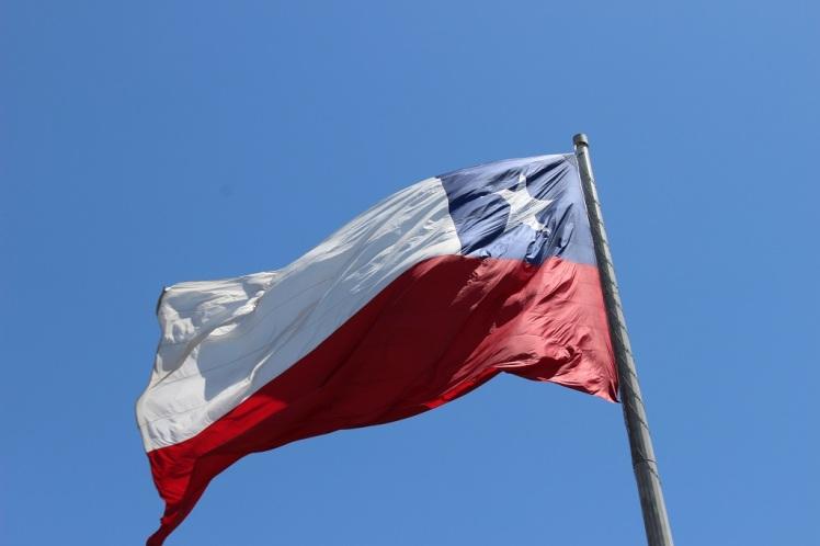 Le drapeau chilien