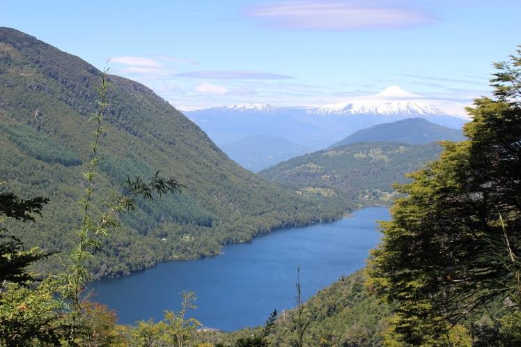 Mirador sur le volcan Villarica, parque Huerquehue