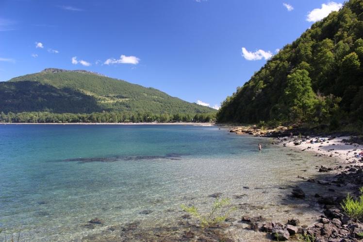 Les eaux limpides du lago Caburga
