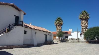 La façade de la hacienda