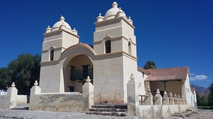 Eglise San Pedro à Molinos