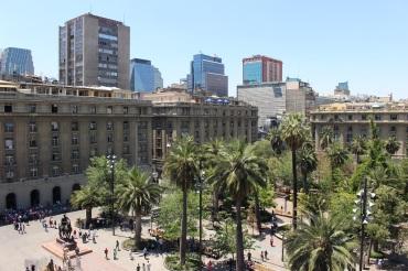 Plaza de Armas depuis le balcon du Museo Nacional