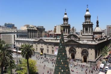 Catedral depuis le balcon du Museo Nacional