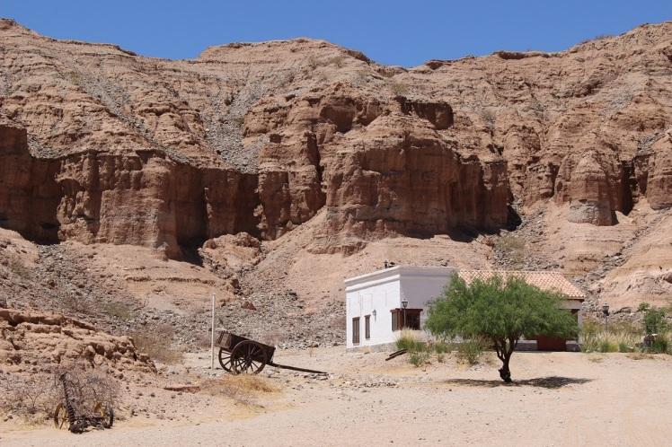 Une hacienda sortie d'un film de western