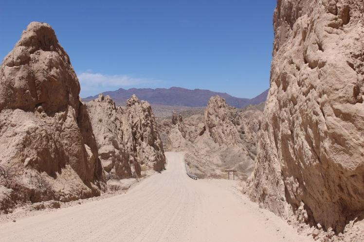 La ruta 40 entre Cachi et Cafayate