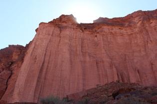 Paroi du canyon