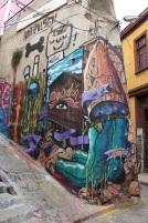 Street art, paseo Gervasoni