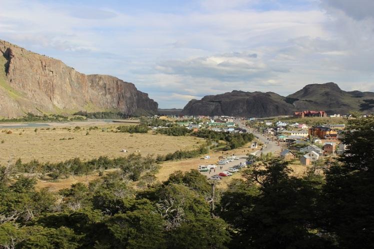 Arrivée sur El Chaltén