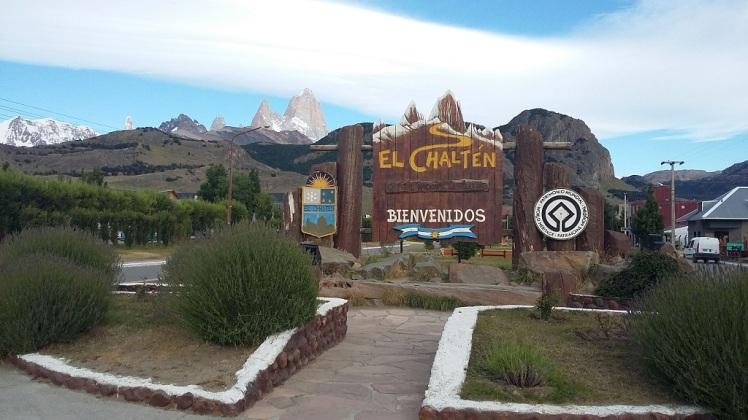 Entrée d'El Chaltén