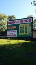 Pub de mate en arrivant au Paraguay