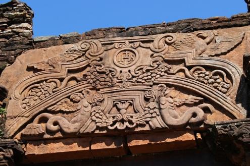 Détail de sculpture, San Ignacio