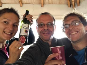 Vin chilien et saucisson français