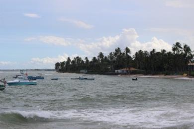 La plage de Praia do Forte