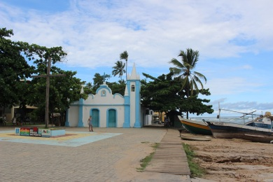 L'église de Praia do Forte