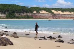 Praia Pipa et ses falaises