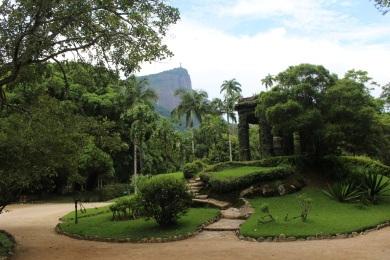 Jardim Botanico et le Corcovado