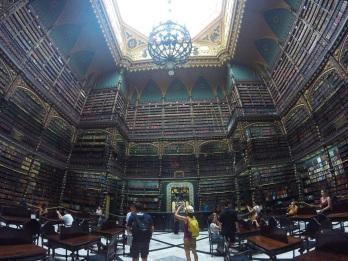 Et sa bibliothèque digne de la Belle et la Bête!