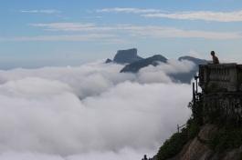 Les nuages à notre 2ème tentative avec Flavien