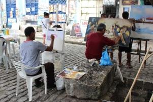 Les artistes s'établissent dans la ville basse