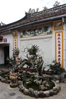 L'arrière du temple Phuc Kien