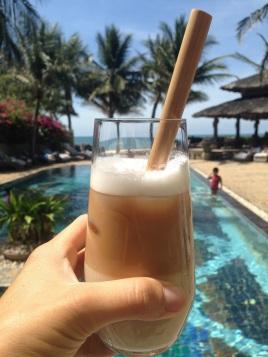 Iced coffe with milk, la spécialité vietnamienne
