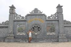 L'entrée de la pagode