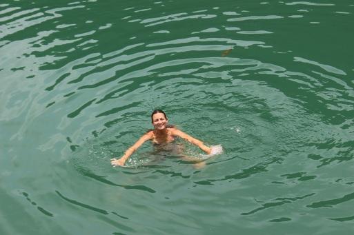 28°C ! L'eau la plus froide qu'on ait eu depuis le Brésil