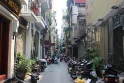 Les rues étroites du centre-ville