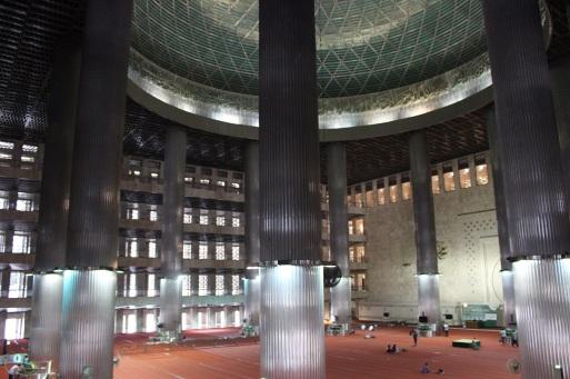 Les 5 étages représentent les 5 piliers de l'islam