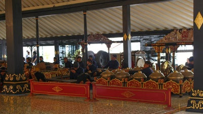 Le gamelan : orchestre traditionnel de Java