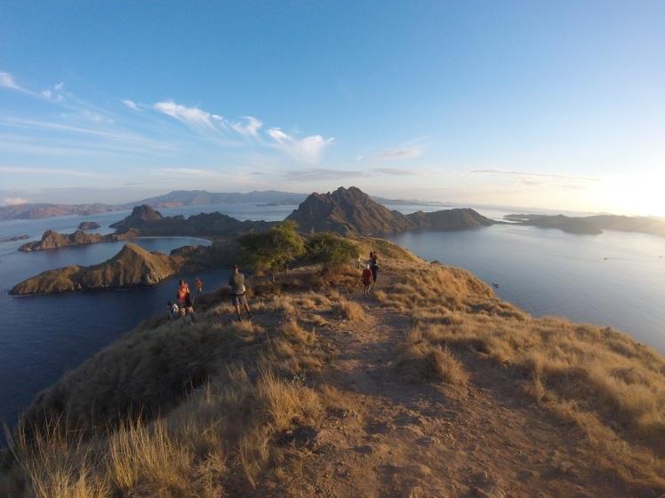 La forme caractéristique de Padar island contribue à sa popularité